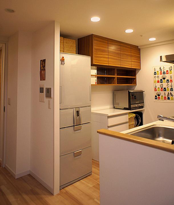 オーダー吊戸棚 キッチン