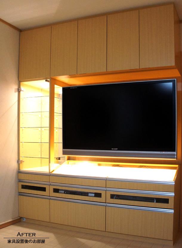 オーダー家具 壁面収納家具