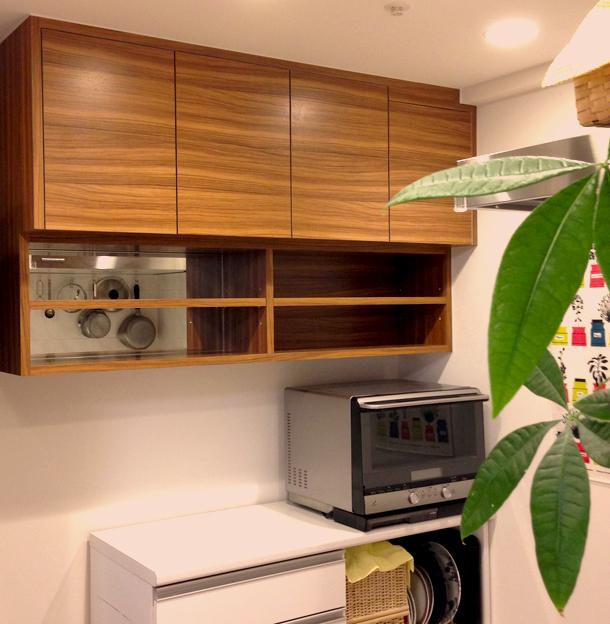 オーダー吊戸棚 キッチン 大阪